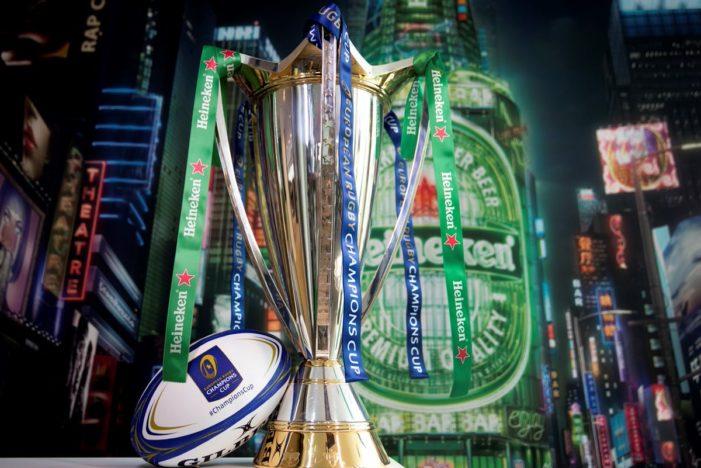 Heineken Returns as Headline Sponsor of European Rugby Champions Cup