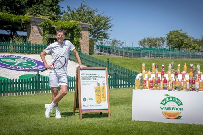 Tim Henman Wants His Hill Back in Robinsons Wimbledon Campaign