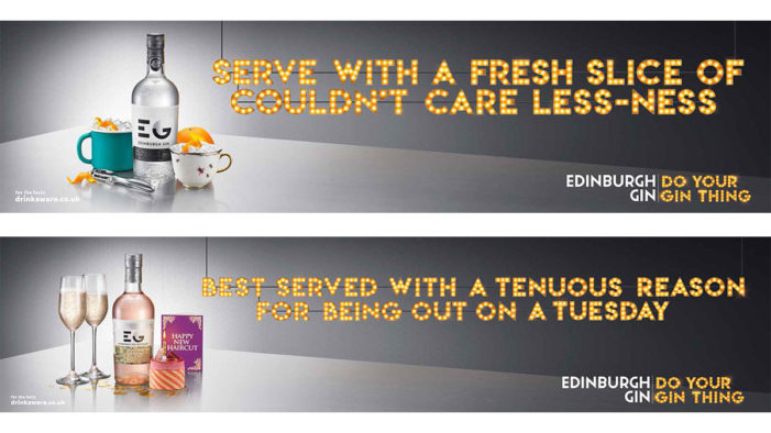 Edinburgh Gin Calls On Consumers to 'Do Your Gin Thing' in First National Ad Campaign