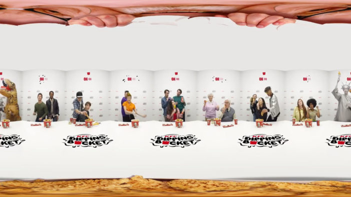 Italy 'Dips' into Fried Chicken in 360° KFC Campaign by Isobar Milan