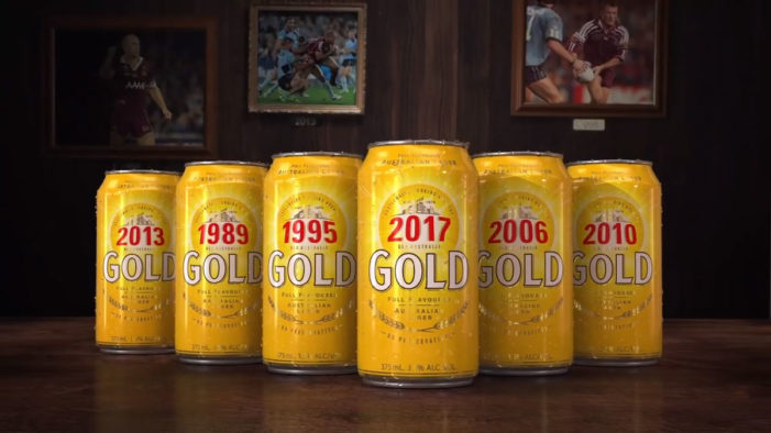 XXXX Gold Loses Iconic Xs in Newly Launched State of Origin Campaign