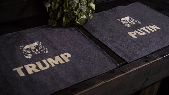 Finnish Beer Karhu Invites Trump and Putin to Hold Talks in a Sauna