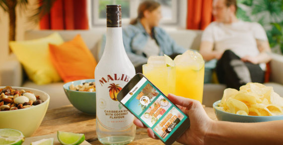 Malibu Deploy 300,000 Connected Bottles Across Europe as Part of 'Because Summer' Campaign