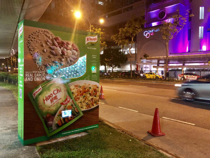 Knorr Hao Chi Spices Up the Streets of Singapore at Clear Channel's Bus Stop Shelters