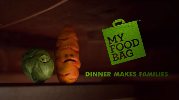"My Food Bag Unveils Russell the Brussels Sprout in New ""Families Make Dinner, Dinner Makes Families"" Push"