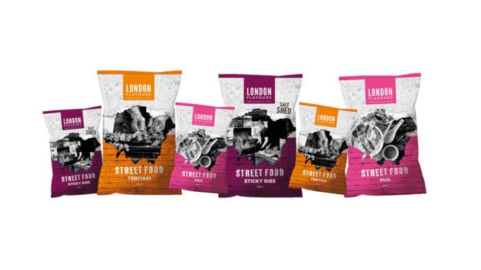 London Flavours Launches New Premium Street Food Crisp Range