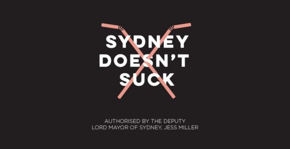 Sydney Launches #SydneyDoesntSuck Online Video by Paper Moose Against Plastic Straws