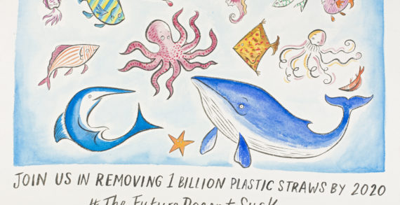 Bacardi & Lonely Whale team up to achieve a goal of removing one billion single-use plastic straws by 2020 to ensure #TheFutureDoesntSuck