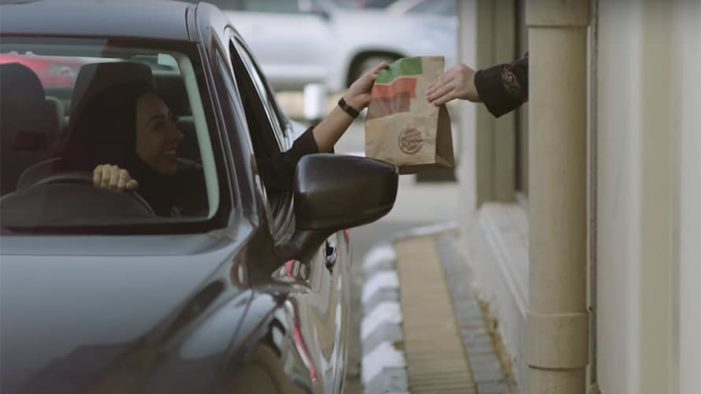 Burger King Celebrates Saudi Women Driving with the WhoppHER