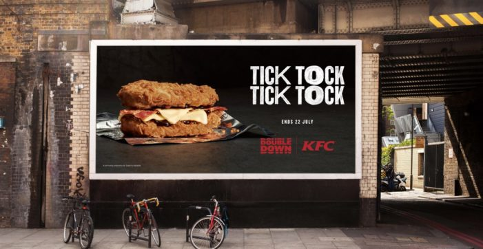 KFC Announce the Return of 'Double Down' Bun-Less Burgers with New Campaign
