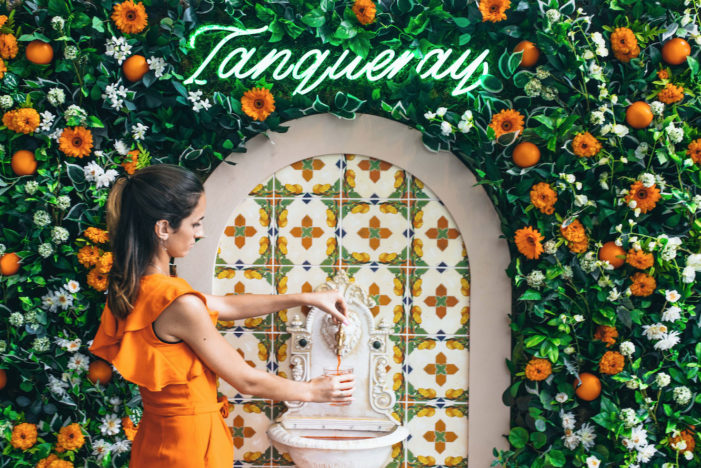 Tanqueray Develops 'UK's First' Negroni Fountain