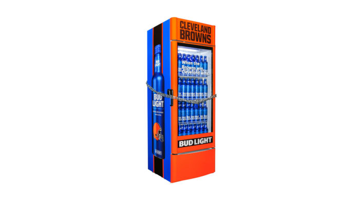 New Bud Light Fridges will Only Unlock Once the Cleveland Browns Finally Win a Game