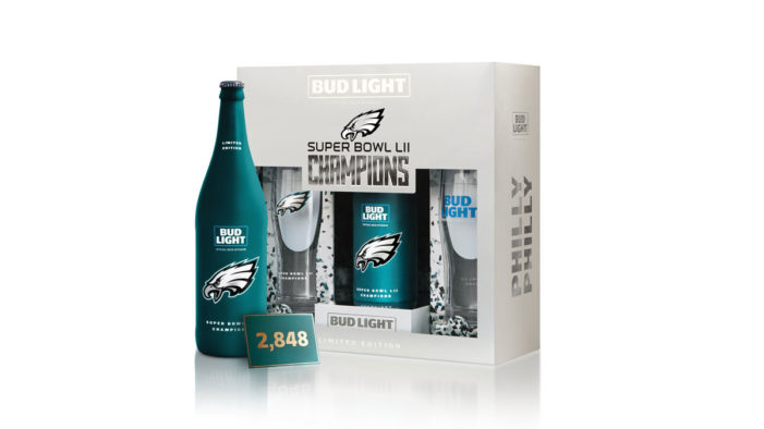 "Bud Light Enshrine Philadelphia Eagles' Historic Super Bowl LII Victory with Celebratory ""Philly Philly"" Pack"