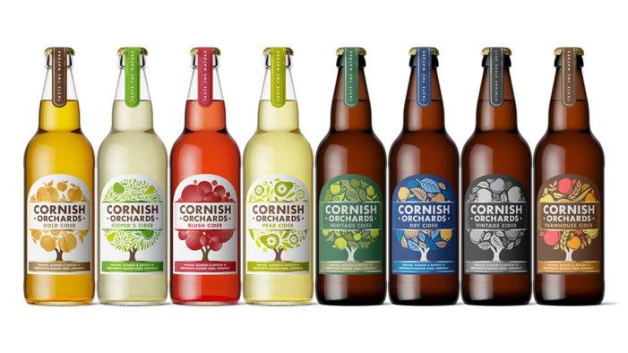 Buddy Creative Refreshes Cornish Orchards' Branding
