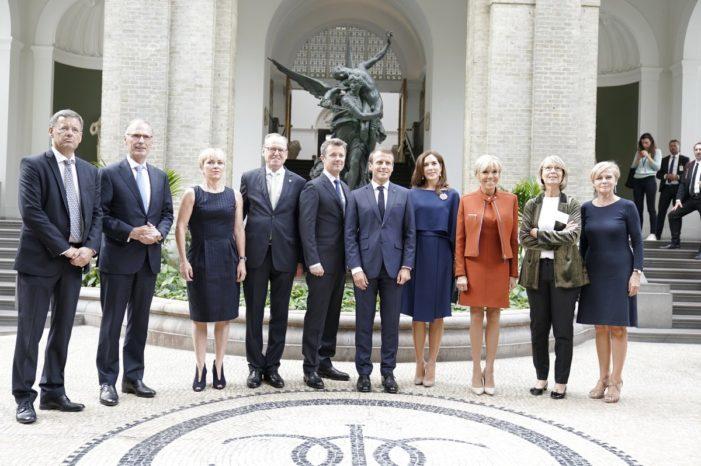 President Macron Visits New Carlsberg Glyptotek, as Carlsberg Group Invests in Kronenbourg Brewery
