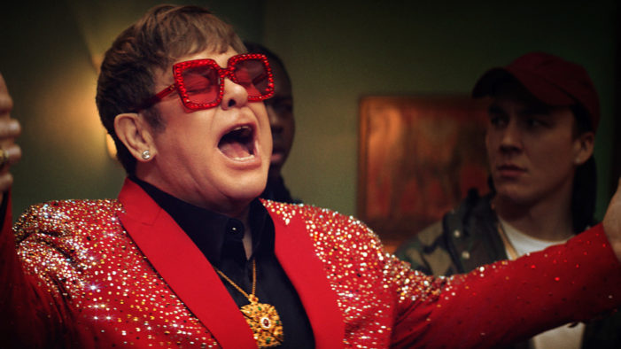 Elton John Enters The Rap Scene In New Snickers Ad by AMV BBDO