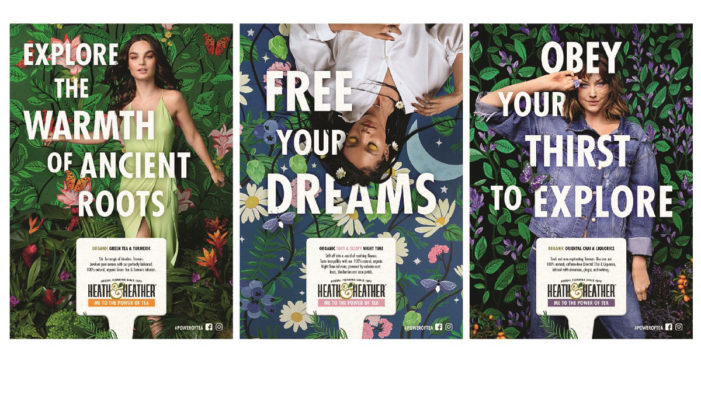 Heath & Heather Launches Multi-Channel 'Me to the Power of Tea' Campaign