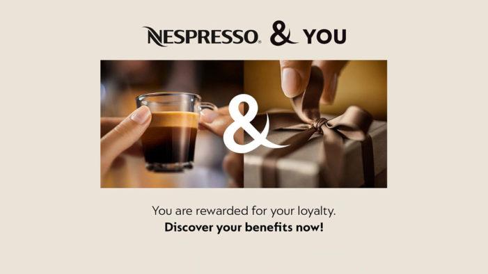 Nespresso Drives Long-Term Loyalty with New 'Nespresso & You' Rewards Scheme