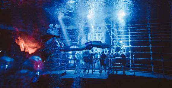 Desperados Creates the World's First Deepest Underwater Dance Floor with DJs Peggy Gou and Artwork