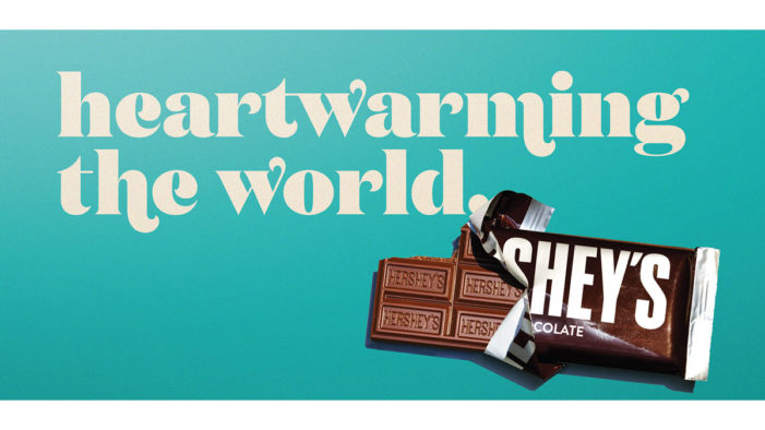 Hershey's Melting the Distance Between People, One Chocolate Bar at a Time