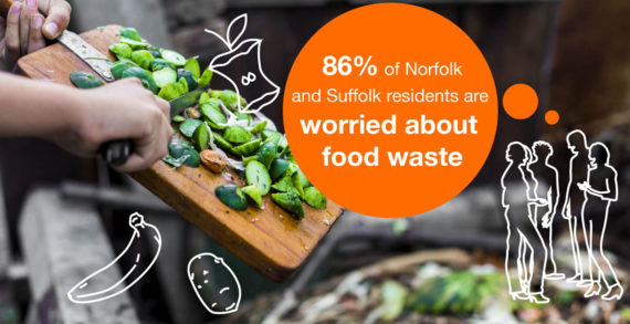 Pioneering #FoodSavvy Campaign Launched to Tackle Food Waste in East Anglia