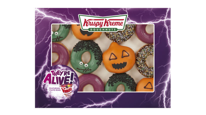 Krispy Kreme and Vimto Team to Create Refreshingly Different Doughnuts