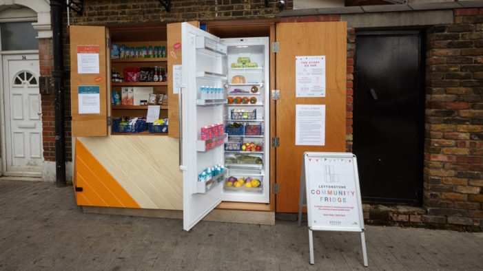 Waltham Forest's First Community Fridge Launches in Leytonstone