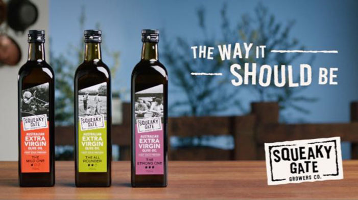 Squeaky Gate Olive Oil Launches 'The Way It Should Be' Campaign