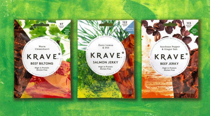 Pearlfisher Provides Branding for Meatsnacks Group's Pioneering New Brand KRAVE