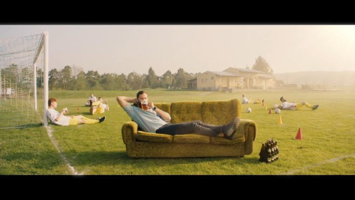Czech Beer Campaign Takes Chilling with a Beer to a Whole New Level