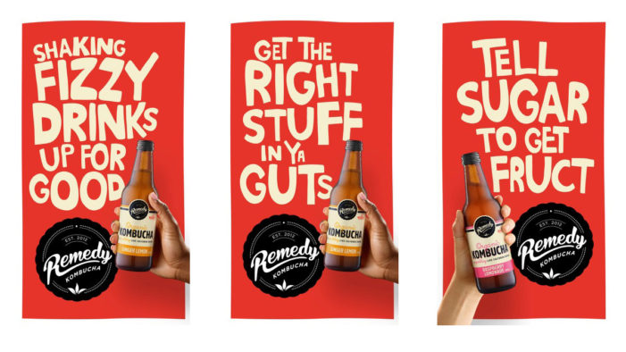 Remedy Kombucha Tells Sugar to 'Get Fruct' in Newly Launched Campaign