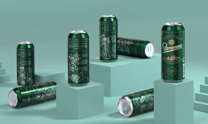 Staropramen's Limited Edition Cans by Cocoon Bring its History to Life Through Illustrations