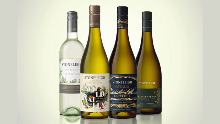 Co-Partnership Provides Vibrant Branding for Stoneleigh's Wine Range