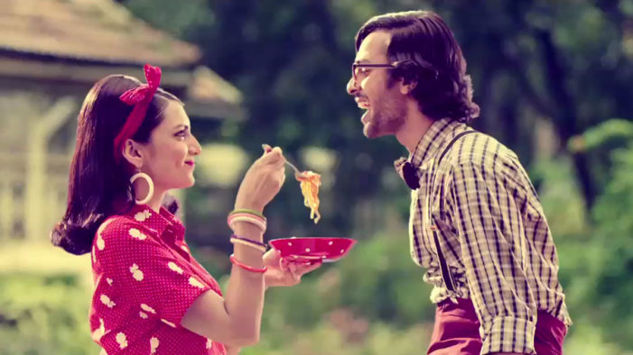 Dentsu India Creates a Cheeky See-Sawing Saucy Campaign for Top Ramen Curry Noodles