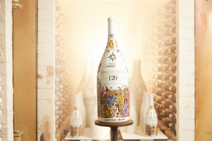 Edouard Brun Unveils Limited Edition Porcelain Bottle Costing €8,000