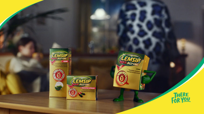 Lemsip Gets a Revamp in New 'There For You' TVC by Havas