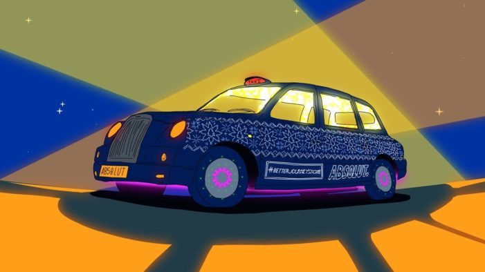 Absolut Teams with Capital FM's Roman Kemp and Dirty Martini to Give Away Taxi Rides