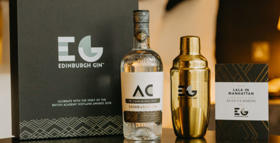 Edinburgh Gin Toasts a Galaxy of Stars as Official Spirit of the British Academy Scotland Awards