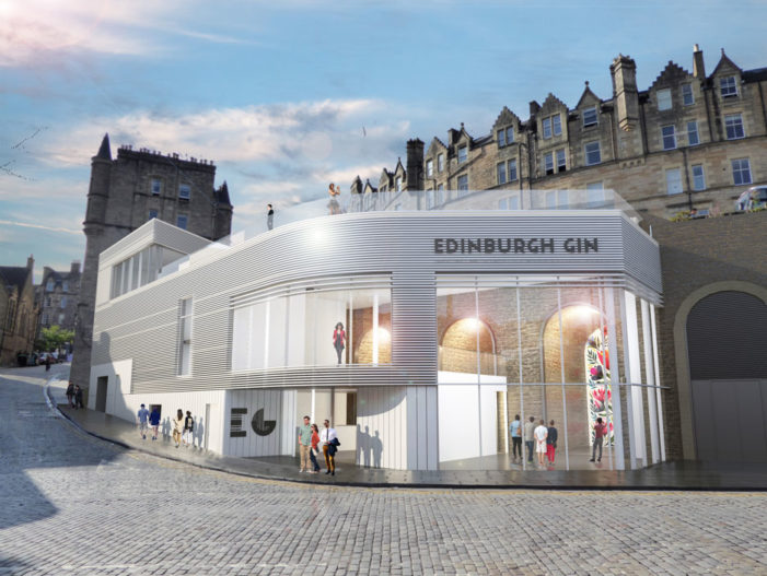 Edinburgh Gin Unveils Plans for Multi-Million-Pound Distillery