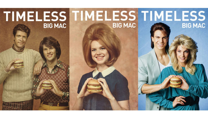 McDonald's Big Mac Turns 50 in France with Endearingly Cheesy Retro Campaign