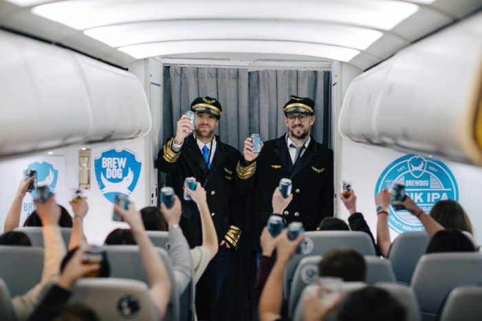 BrewDog Launches First Ever Craft Beer Airline