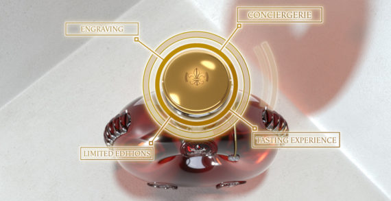 """LOUIS XIII COGNAC Presents Its """"Smart Decanter"""": The First Crystal Connected Decanter"""