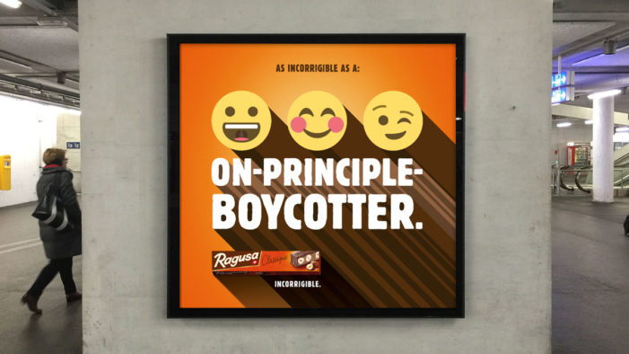 Serviceplan Switzerland Create an Incorrigible Campaign for Ragusa Chocolate