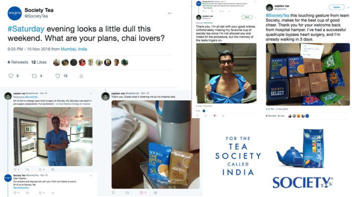 Society Tea is Taking Twitter Beyond Tea Cups via Fruitbowl Digital