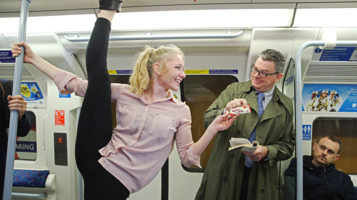 Acrobats Takeover the London Commute in New Campaign for Kellogg's Nutri-Grain