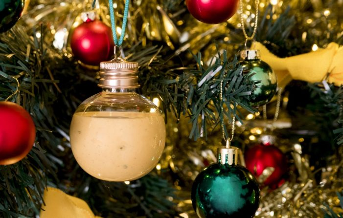 Subway Decks the Halls with Condiment Baubles for Christmas