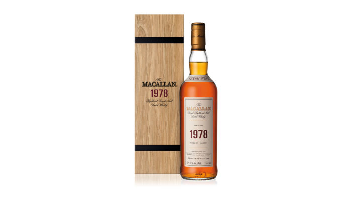 The Macallan Unveils The 1978 Fine & Rare Vintage