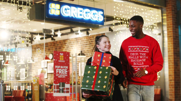 Greggs Launch First Ever Christmas Gift Range and Free Gift Wrapping Service