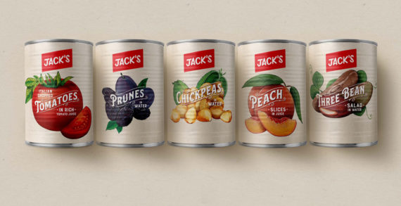 1HQ Brand Agency Designs Over 500 SKUs for New Supermarket, Jack's