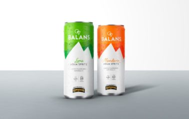 Elmwood Brands Kopparberg's New Drinks Concept, Balans Aqua Spritz